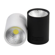 Hot Sale High Power surface mounted 10W COB led ceiling lamp recessed down light downlights AC85~265V