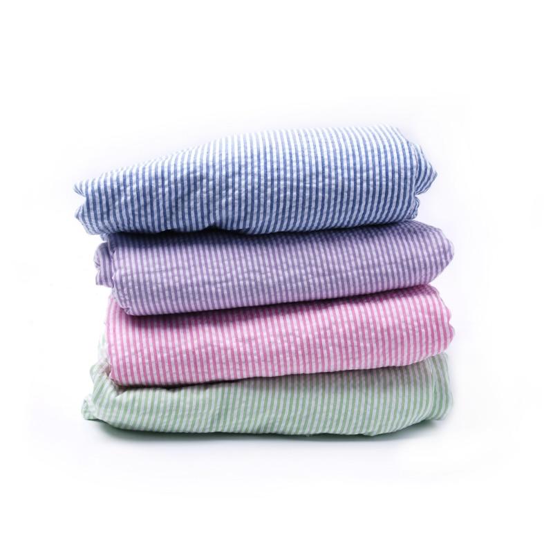 Seersucker мягкие удобные пеленать новорожденного для малышей для мальчиков и девочек Де ...