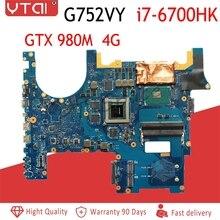 G752VY материнская плата для ноутбука ASUS G752VY G752V G752 Материнская плата ноутбука I7-6700HQ GTX980M-4G 100% полностью протестирована