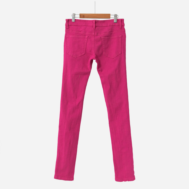 Ripped Candy Pants Pencil Trousers 2