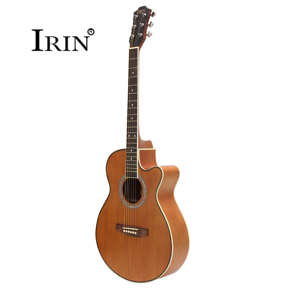 40 Inch Sapele Steel-string Acoustic Guitar Missing Angle Rosewood Fingerboard 6 String  Guitar Musical Instruments Professional amola acoustic guitar strings set 010 012 011 pure copper steel 010 047 acoustic wound guitar 1 6th string musical instruments