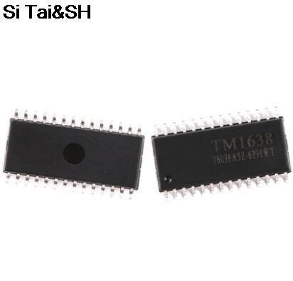 1PCS TM1638 SOP-28(China)