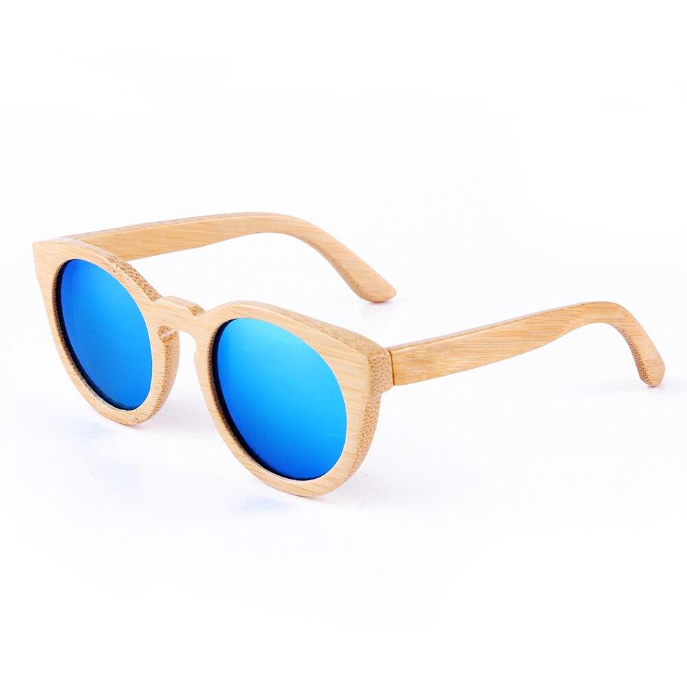 BerWer font b Fashion b font hot sale 5 colors bamboo Sunglasses Bamboo Design wooden font