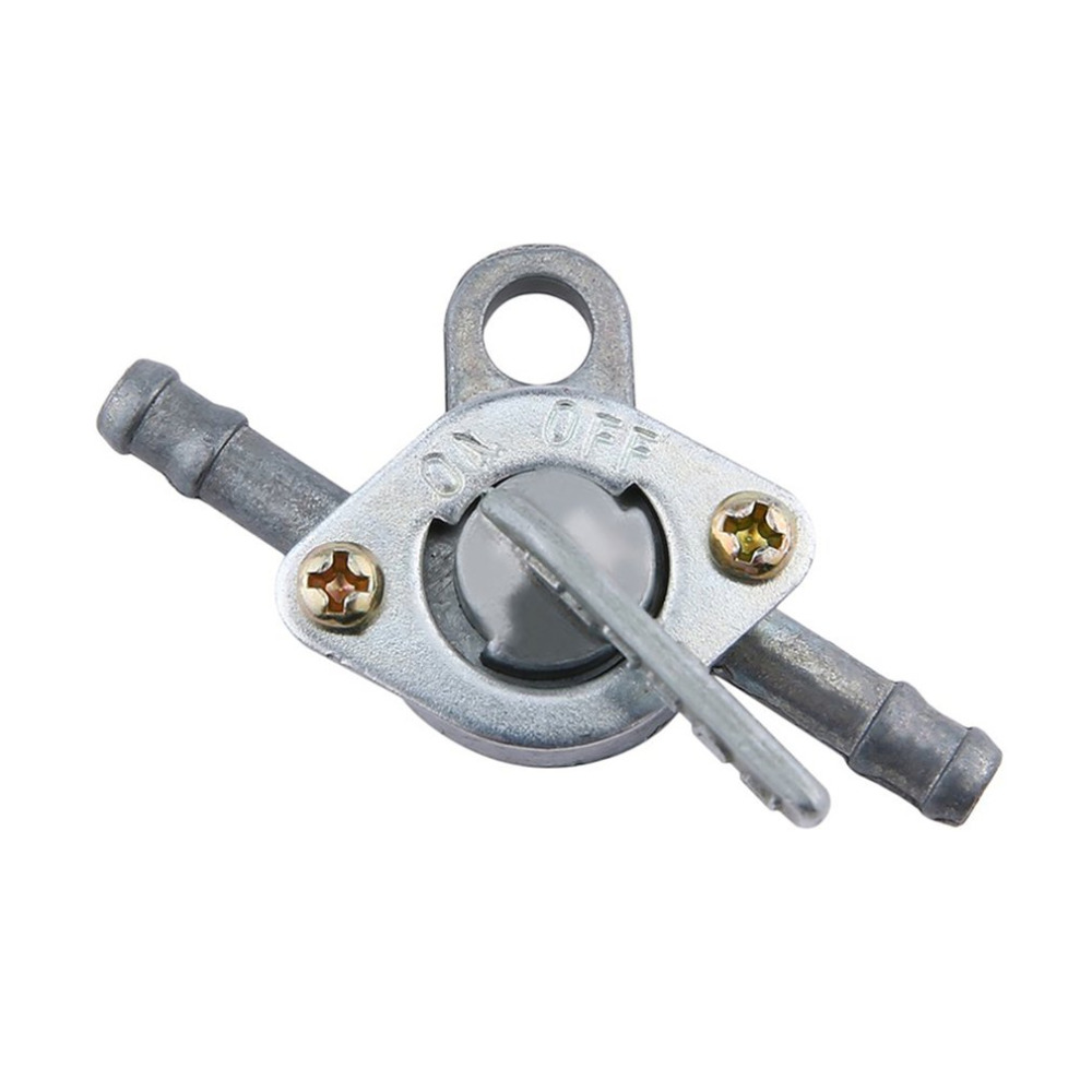 Newest Fuel Petrol Tank Switch Tap Petcock Gasoline Valve With Two Ends On/Off Switch For Cross-country Motorcycle ATV Moped Hot