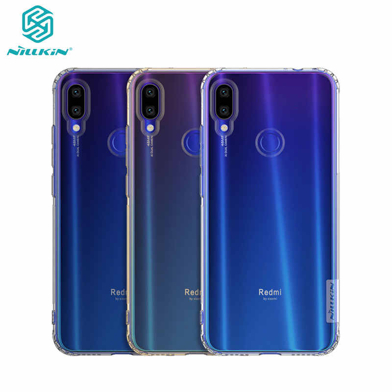 Redmi Note 7 ケース 6.3 ''Nillkin 自然シリーズクリアソフト TPU ケース xiaomi Redmi Note 7 プロ 7S カバー