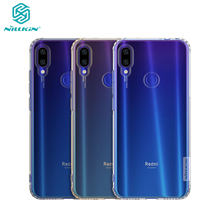 Redmi Note 7 ケース 6.3 ''Nillkin 自然シリーズクリアソフト TPU ケース xiaomi Redmi Note 7 プロ 7S カバ(China)