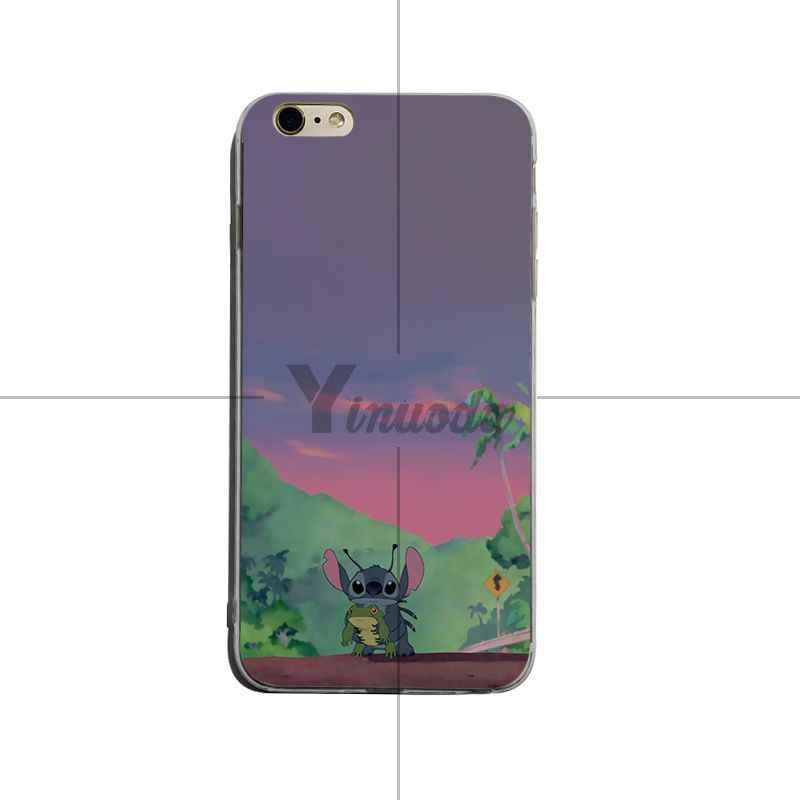 Lilo e stitch Yinuoda Mais Novo Super Bonito Casos de Telefone Para o iphone XSMax X XS XR 7 7 Plus 8 8 além de 6 6 s 6 plus