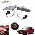Bumper Indicator Repeater Lights Lamps Smoke Turn Signals For Volkswagen VW Golf Mk2  GTI Jetta Base Sedan 1989-1992 C/5