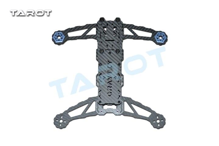 Tarot 300 Mini frame kit parts quad copter carbon fiber frame for 300 FPV quadrotor TL300B tarot 600 parts carbon fiber frame 2 0mm right tl6013 1 tarot 600 parts free shipping with tracking