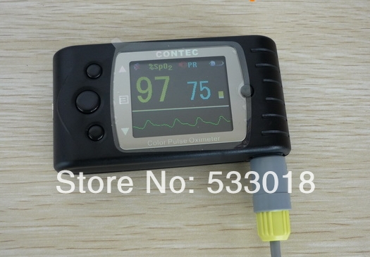 Free Shipping CMS 60CW CE FDA OLED ulseP Rate Oxygen Blood SPO2 Oximeter Monitor Adult Sensor Wireless bluetooth USB port
