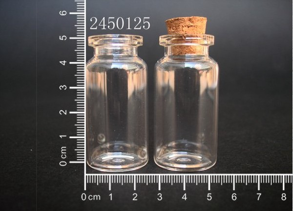 Pendant Glass-Bottle Holiday-Decoration Clear Christmas-Gifts Wedding Small 400pcs