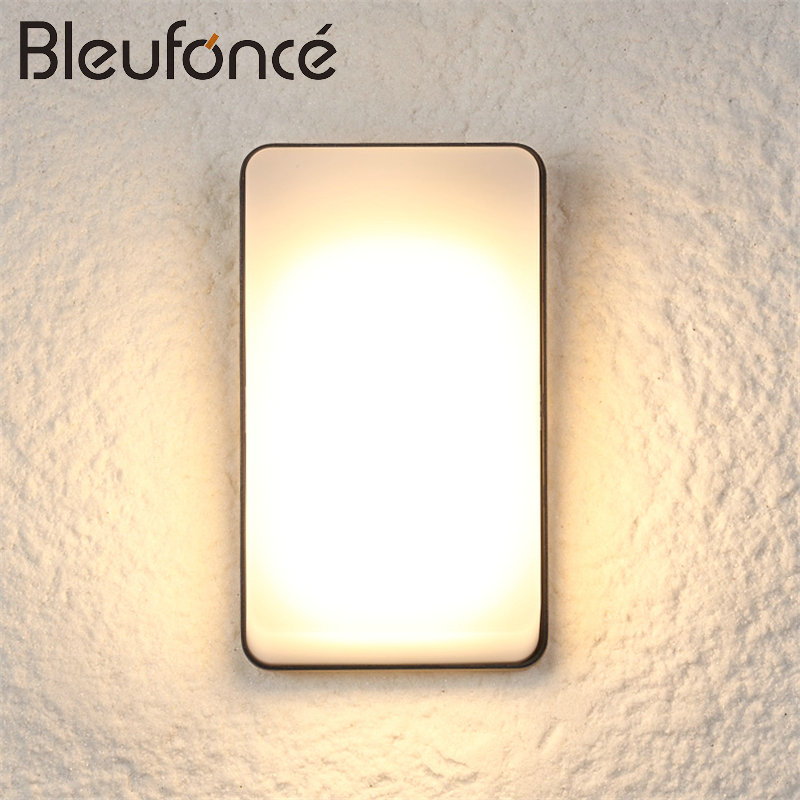 Outdoor Waterproof Wall Lamp LED Light Modern Simple Wall Sconce Porch Garden Light Home Decoration Lighting Wall Lamps BL44 modern lamp trophy wall lamp wall lamp bed lighting bedside wall lamp
