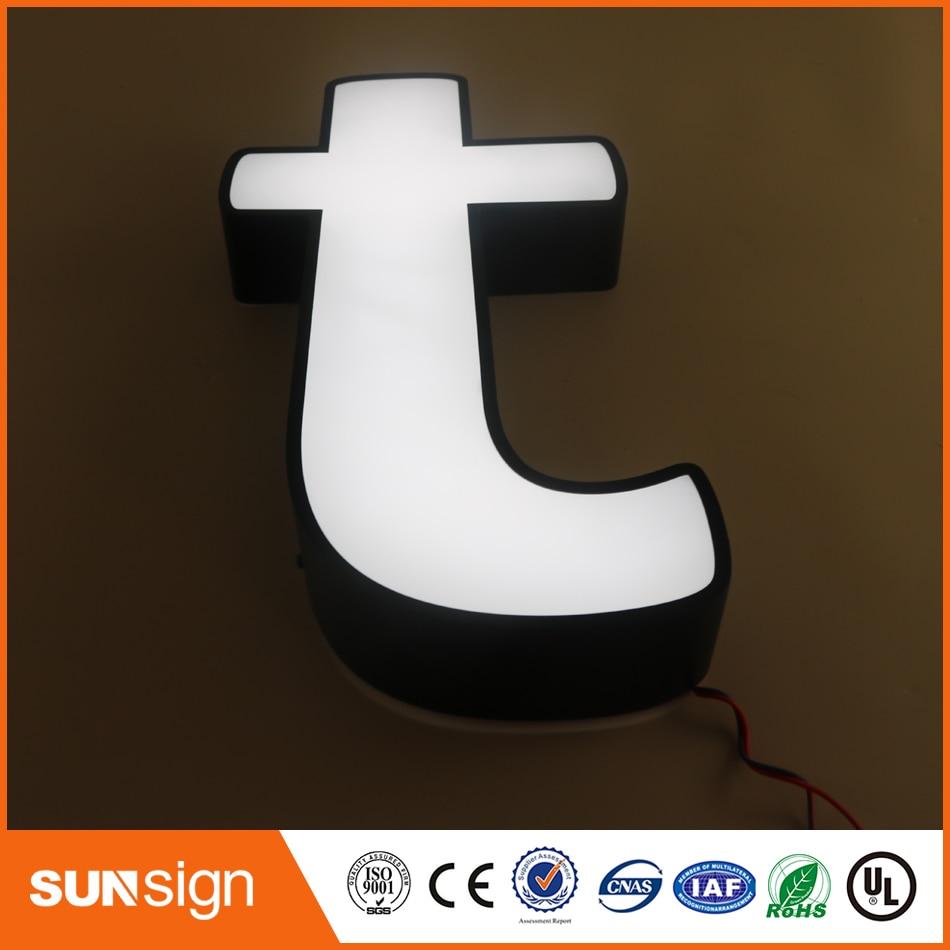 2016 Led Letter Sign, Acrylic Led Channel Letter, Outdoor/indoor Led Logo