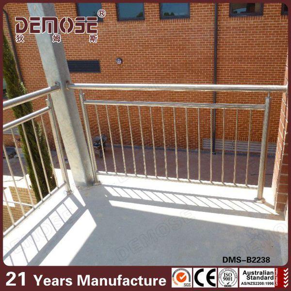 demose modern design ms pipe railing terrace railing ...