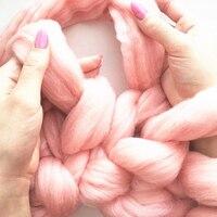 Super Thick Fio Para Mão Agulhas de Tricô Fios de Lã Merino DIY Needlework Venda Volumoso Braço Itinerante Fios Para Tricô Cobertor