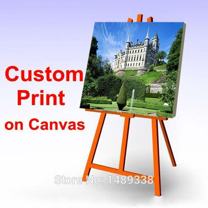 당신의 그림, 가족, 친구 또는 아기 사진, 좋아하는 이미지 사용자 정의 인쇄 캔버스 그림 방 장식 무료 배송
