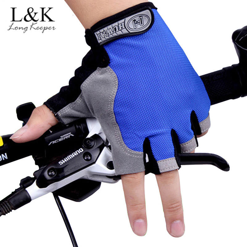 Long Keeper Fashion Riding Gloves Man Mountain Bike Mittens Fingerless Eldiven Men Women ...