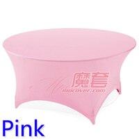 Pink màu sắc wedding bảng vải lycra bảng cover spandex linen khách sạn tiệc đảng bàn tròn trang trí trên bán