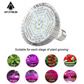 1pcs Full Spectrum Led Grow Light E27 30W 50W 80W Led Growing Lamp for Flower Plant Hydroponics System aquarium Led lighting