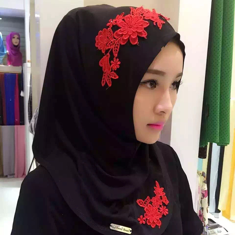 2016 Fashion Flowers Women 39 S Scarf Polyester High Quality Turkish Indonesian Muslim Hijab For