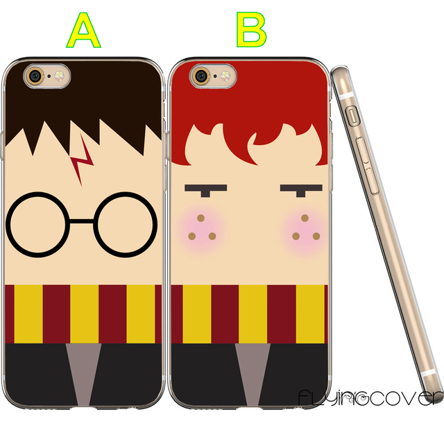 official photos 9714a fc5e9 US $6.95 |Fundas Harry Potter BFF Best Friend Clear Soft TPU Silicone Cover  for iPhone X 7 8 Plus 5S 5 SE 6 6S 5C 4S 4 iPod Touch 6 5 Case-in Fitted ...