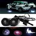 2 x Автомобиль ВОДИТЬ Лазерный Логотип Двери Свет Добро Пожаловать Призрак Тень Проектор Дверные Любезно Огни для Всех Моделей Автомобилей