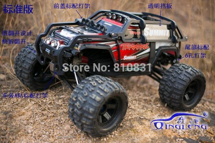 Body protection ,Roll cage for traxxas summit 1/10 ,imported nylon,apply to the original car shell,Include Rise Head Wheel sea to summit expander liner standard