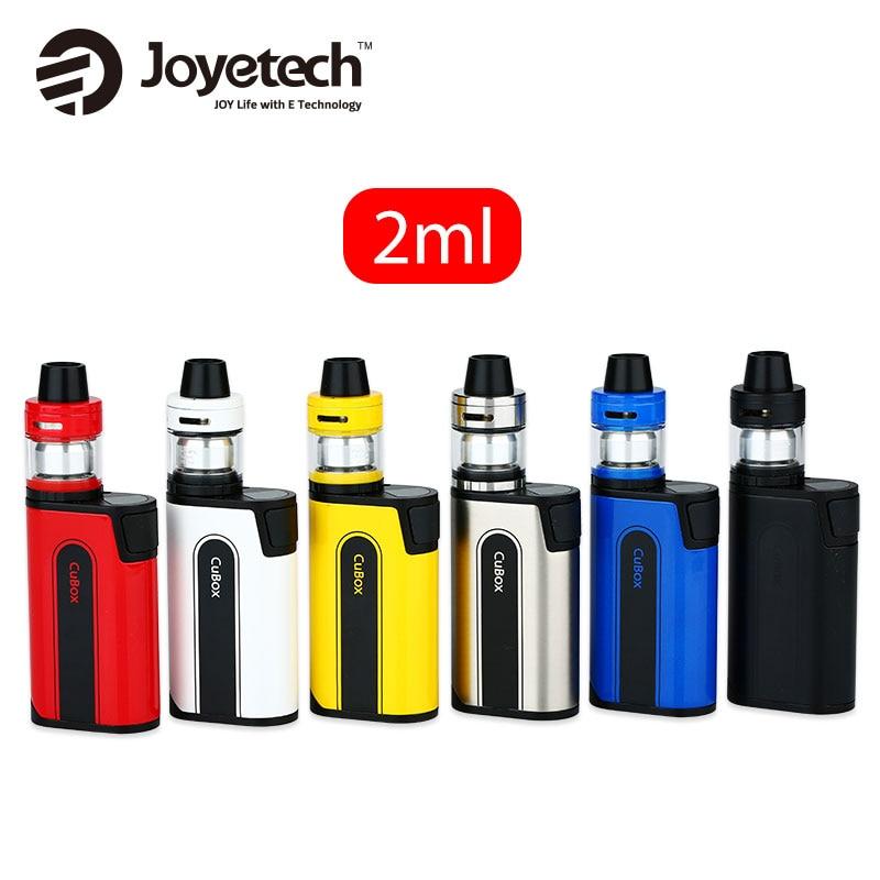 100% Original Joyetech CuBox avec CUBIS 2 Kit 2 ml capacité réservoir atomiseur vs Joyetech CuBox MOD tout en un batterie électronique cig