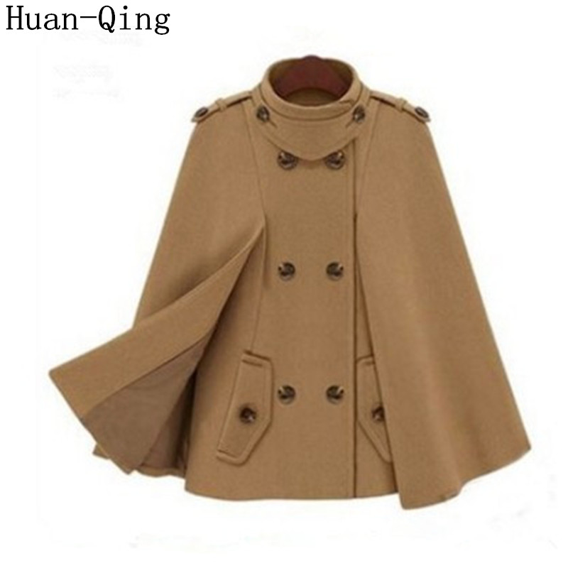 Online Buy Wholesale tweed cape coat from China tweed cape coat ...