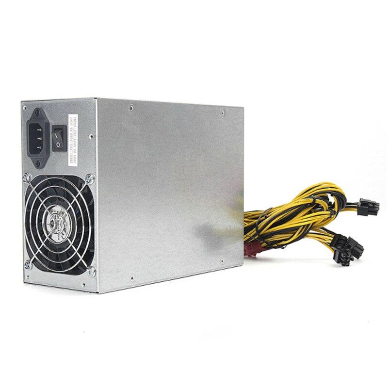 Alta calidad 1950 W 1800 W minería máquina de alimentación para el ETH bitcoin Miner antminer S7 S9 90 aluminio oro máquina del minero