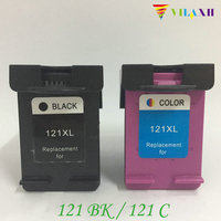 vilaxh 121XL Compatible Ink Cartridge Replacement for HP 121 xl For Deskjet 1050 2050 F2423 F2483 F4213 F4283 D1663 Printer