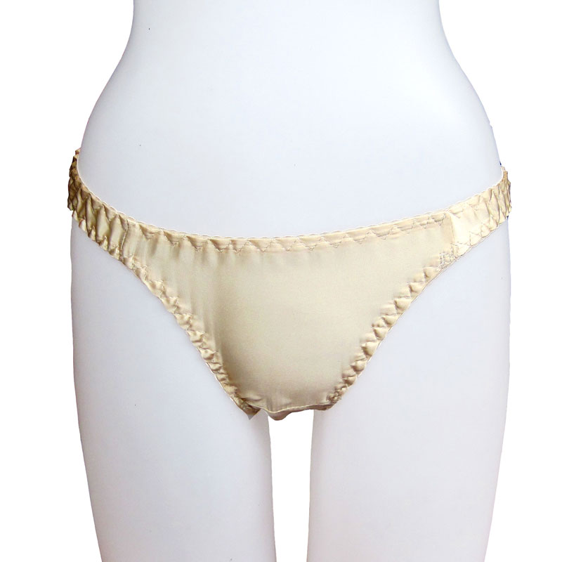 Free shipping mulberry silk female silk panties silk breathable the  broadened t thong low-waist sexy ea52b2719