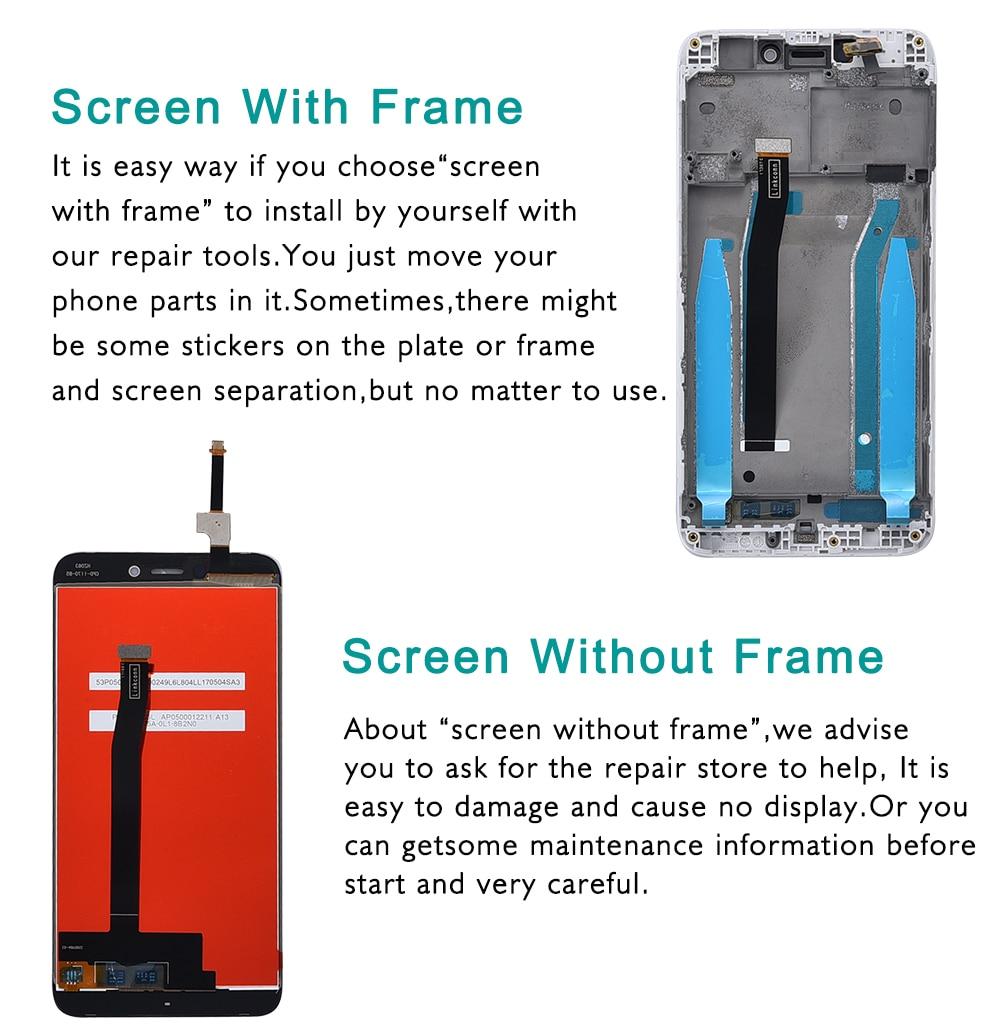 "HTB1GW2lchuTBuNkHFNRq6A9qpXaP 5.0"" Original LCD For XIAOMI Redmi 4X Display Touch Screen with Frame For XIAOMI Redmi 4X LCD Display 4X Pro LCD Screen"