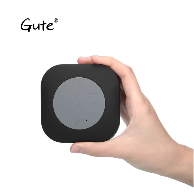 Gute date mode anti-projections bluetooth haut-parleurs barre de son bocina coloré aspiration parlante portatil altavoz portatil qc jot