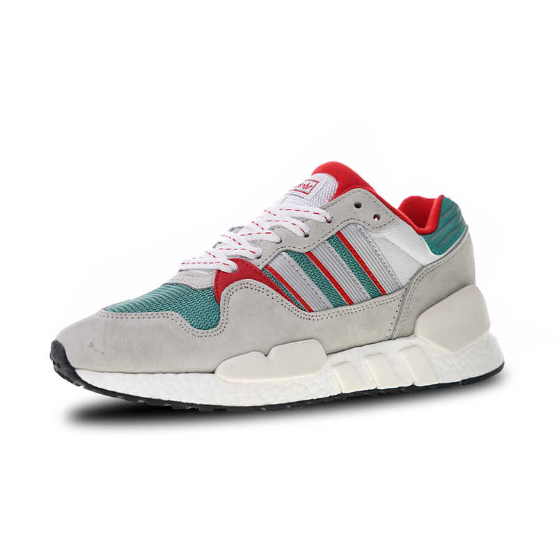 more photos 7e476 d460d Adidas Originals EQT ZX Boost Sports Shoes Gray Green Red Running Shoes For  Men And Women G26806 36-45 EUR Size U