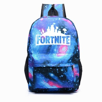 Game Drift Backpack for Students School Bag Travel Bag Luminous Cosplay Accessories Adult Kids Unisex Halloween Party Props