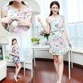 Mamalove moda vestido de maternidade vestidos de enfermagem amamentação vestidos alimentação vestido de maternidade roupas para mulheres grávidas