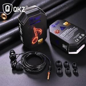 Image 3 - QKZ In Ear Cuffia Auricolare Super Ciotola Tuning Ugelli Auricolare In Ear Monitor HiFi Auricolari Con Microfono Suono Trasparente