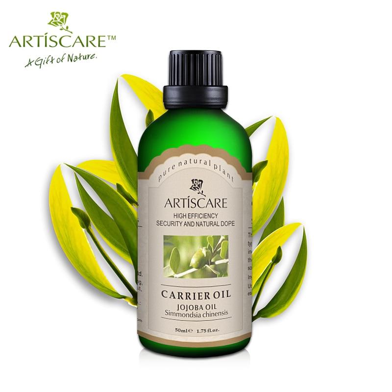 ARTISCARE 100% Natural Jojoba Base oil 50ml Moisturize Anti wrinkles Anti Aging body Massaging Oil Nourish Maintenance Skin Care цены онлайн
