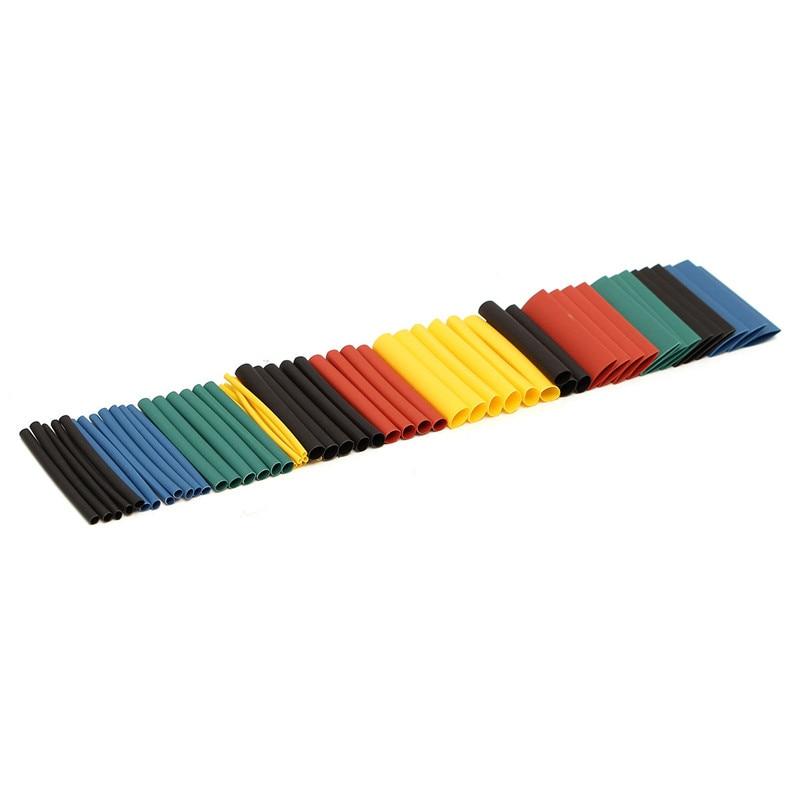 280 pièces 8 tailles Multi couleur polyoléfine 2:1 thermorétractable Tube gaine Tube gaine assortiment gaine fil Kit tubes Kits