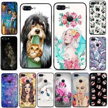 Fashion Case For Oneplus 5T A5010 6.01″ Soft Silicone TPU Black Phone Case For One Plus 5 T Back Cover oneplus 5T A5010 Fundas