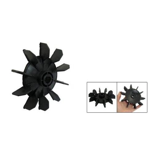 все цены на PROMOTION! Hot New Air Compressor Part Black Plastic 14mm Inner Dia,Ten Vanes Motor Fan Blade онлайн
