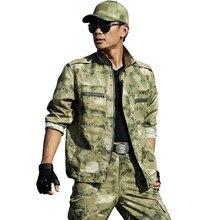52511a892d9 Táctico militar de camuflaje ejército ropa Casual chaqueta + Pantalones  Marina SWAT soldado Hunter hombres juegos de trajes CS