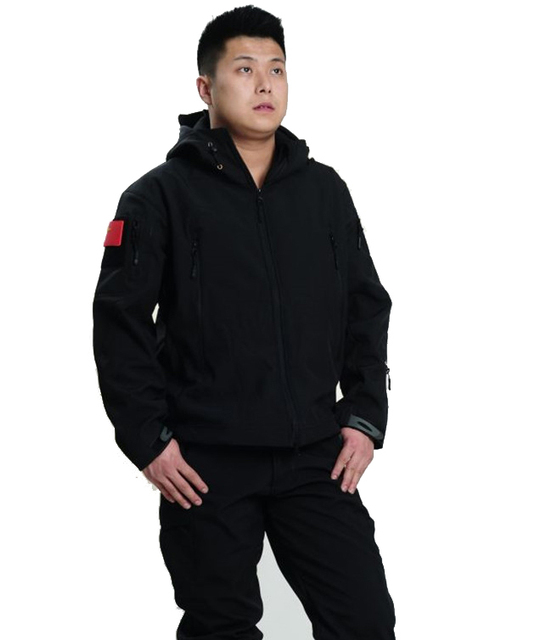 Spring Autumn Winter Jacket Men's Sportswear Windbreaker Waterproof Fleece Jacket Zipper Casual Coat #15050145