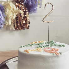 LM77 0-9 Number and five star shape birthday candle for cake