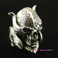 925 чисто мужской тайский серебряное кольцо