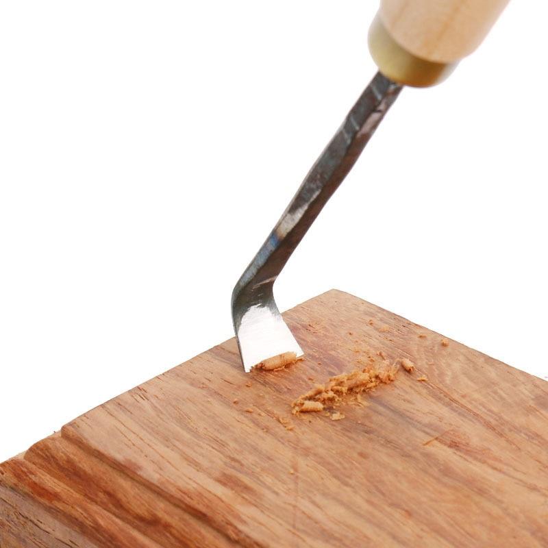Arborvitae Thuja Hook Knife Tools Root Grinding Blade Angle Scraper