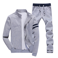 Spring Autumn Casual Youth Popular Sports Suit Running Mens Slim Fit Cotton Long Sleeve Hoodies Men