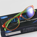 Unisex Eyeglasses Women TV Computer Glasses Men Frame Multicolor Eyewear Frame UV Clear Lens Reading Goggles Spectacle Frames
