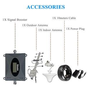 Image 5 - Мини ретранслятор сигнала мобильного телефона Lintratek 3G UMTS 850 МГц (полоса 5), с ЖК дисплеем, сотовый GSM 850 МГц, антенна @